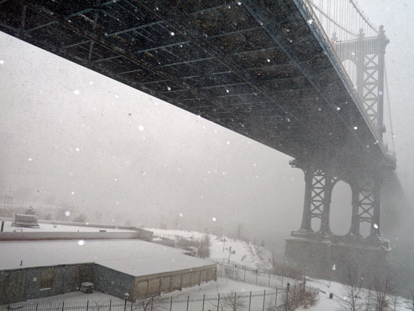 blizzard under the bridge