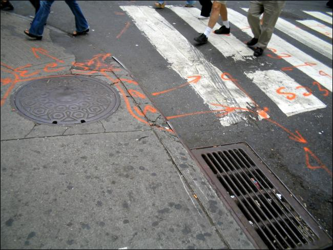 Crosswalk Manhattan