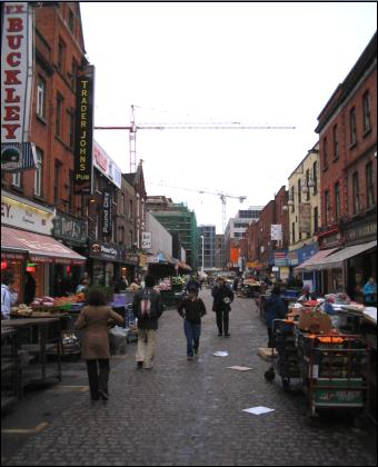 market on Moore Street
