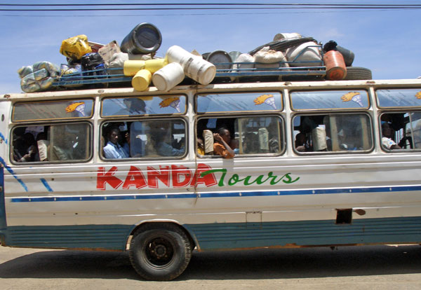 Bus to Garissa