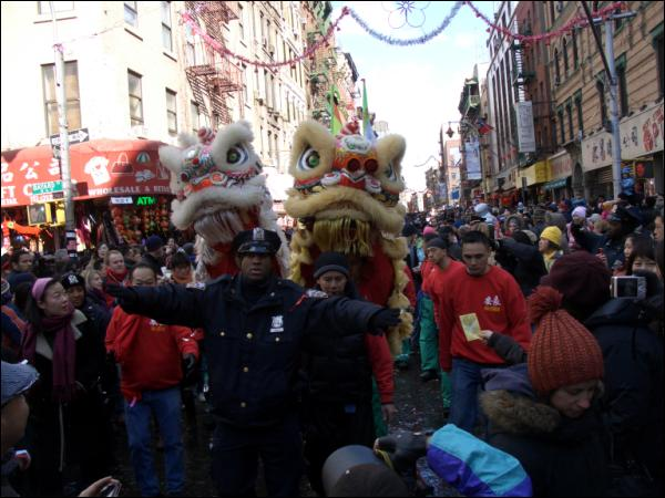 Chinese Lunar New Year, Mott street 2007