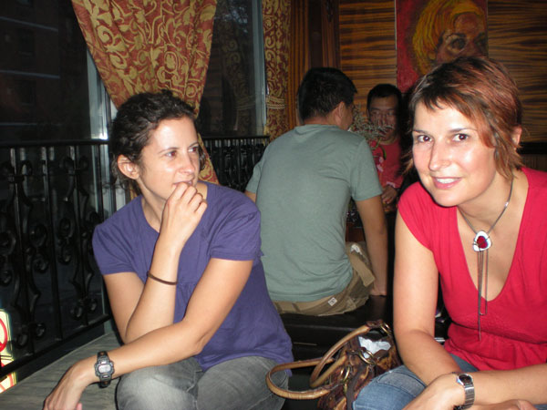 Sue Rae and Jess at Angel Share