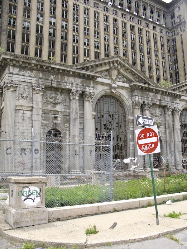 Old Detroit Train Station Pictures Old Train Station in Detroit