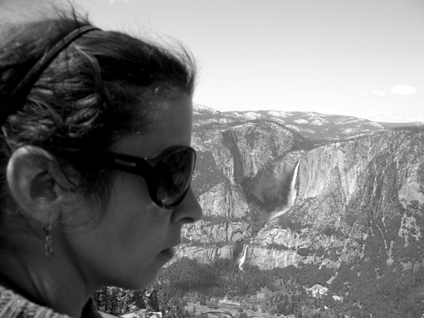 Jess at Glacier Point