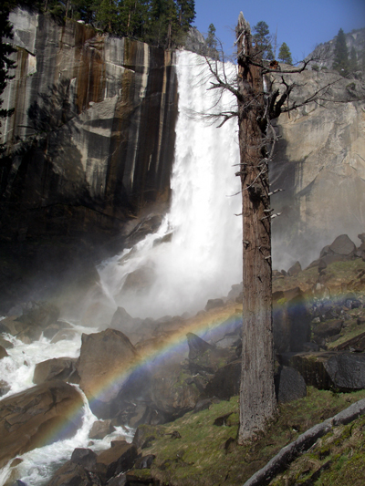 Rainbow at Vernal Falls